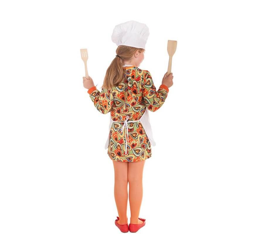Disfraz de Cocinera Big Chef para niña-B