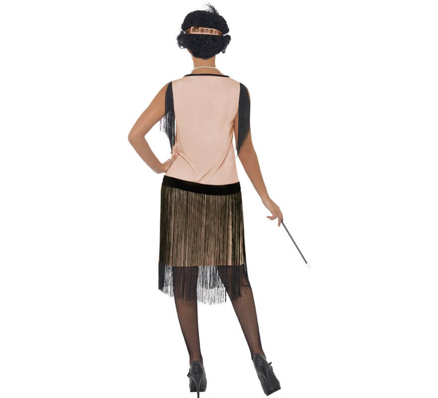Disfraz de Coco Chanel Flapper para Mujer-B