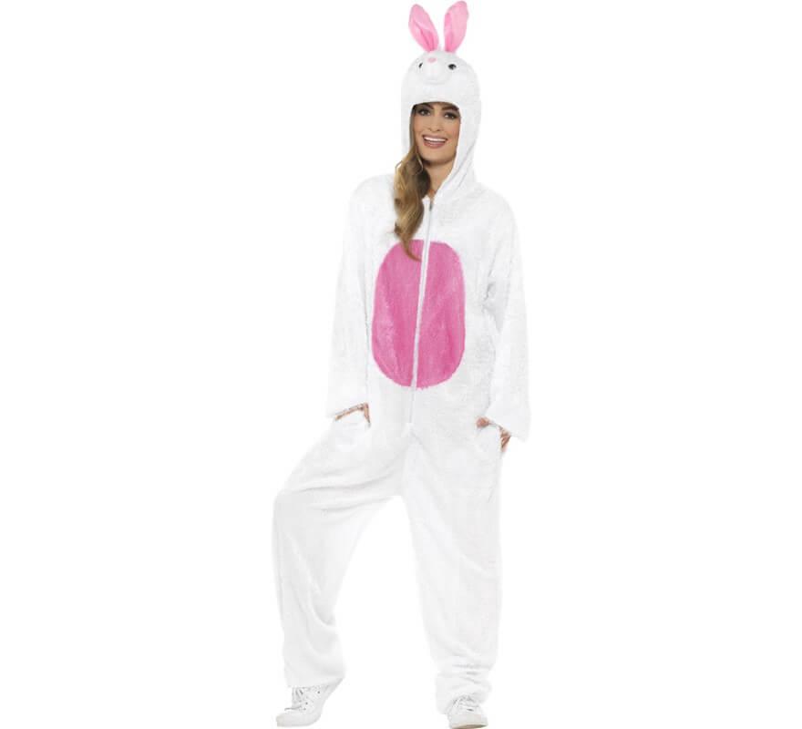 Disfraz de Conejo Blanco para adulto-B