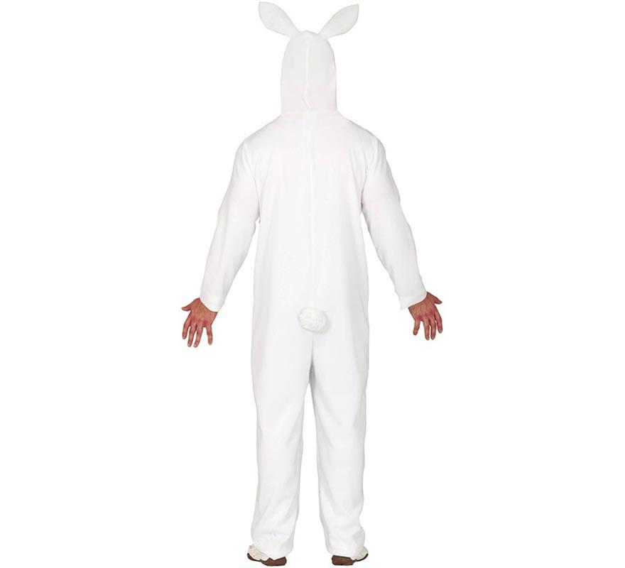 Disfraz de Conejo de Pascua Azul y blanco para hombre-B