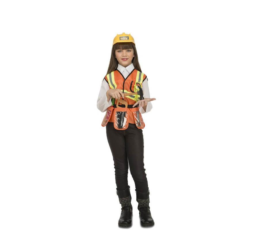 Disfraz de Constructor con Accesorios para niños-B