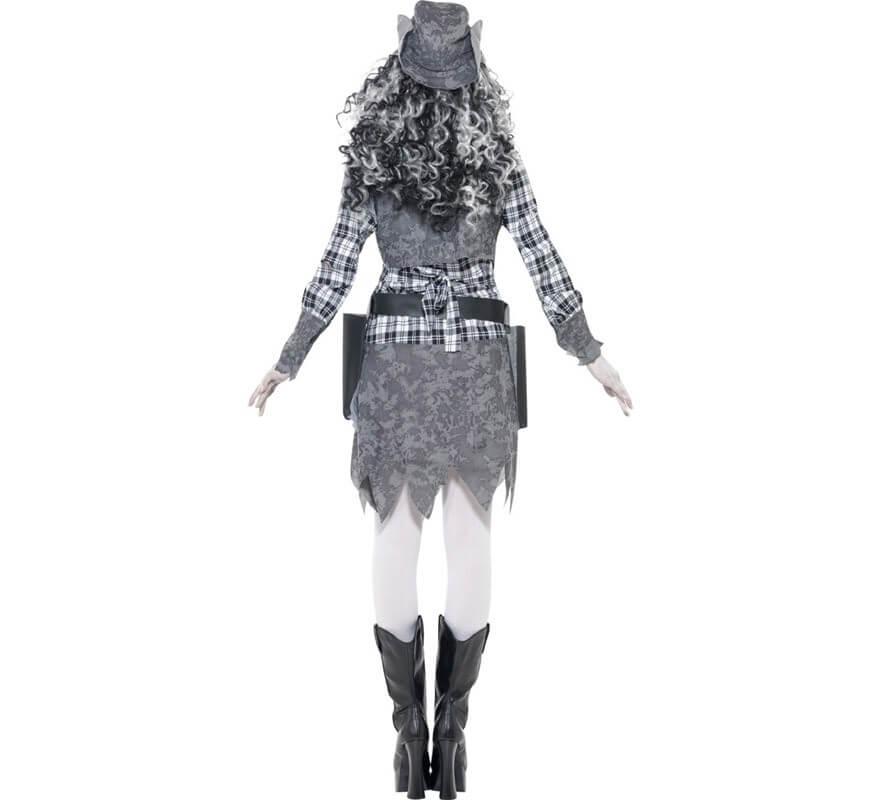 Disfraz de Cowgirl o Vaquera Fantasma para Mujer-B