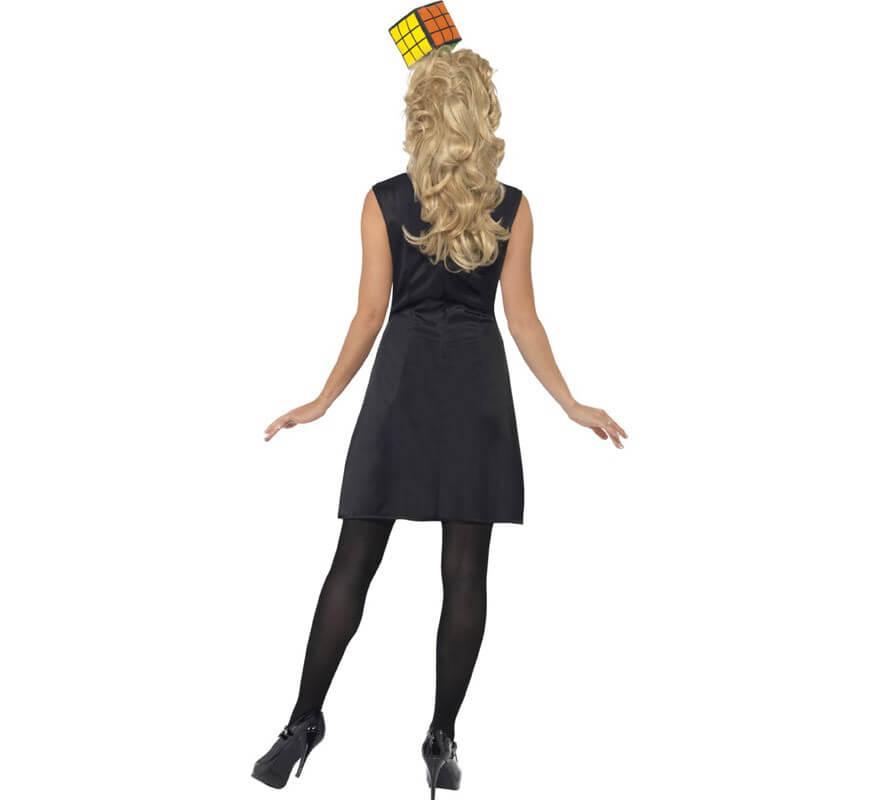 Disfraz de Cubo de Rubik's para mujer-B