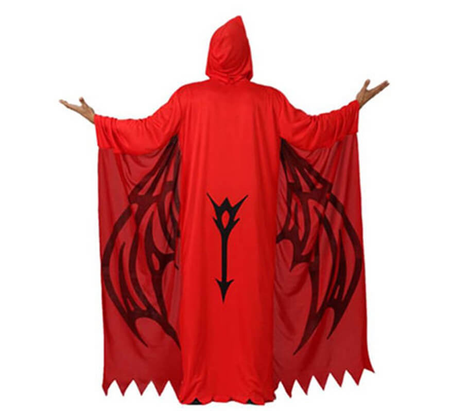 Disfraz de Demonio Rojo para hombre talla M-L-B