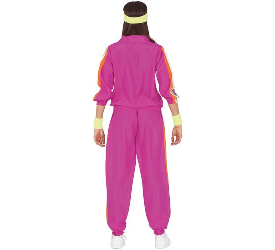 Disfraz de Deportista Ochentera para mujer-B