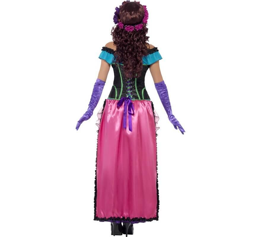 Disfraz de Día de Difuntos Catrina para Mujer-B