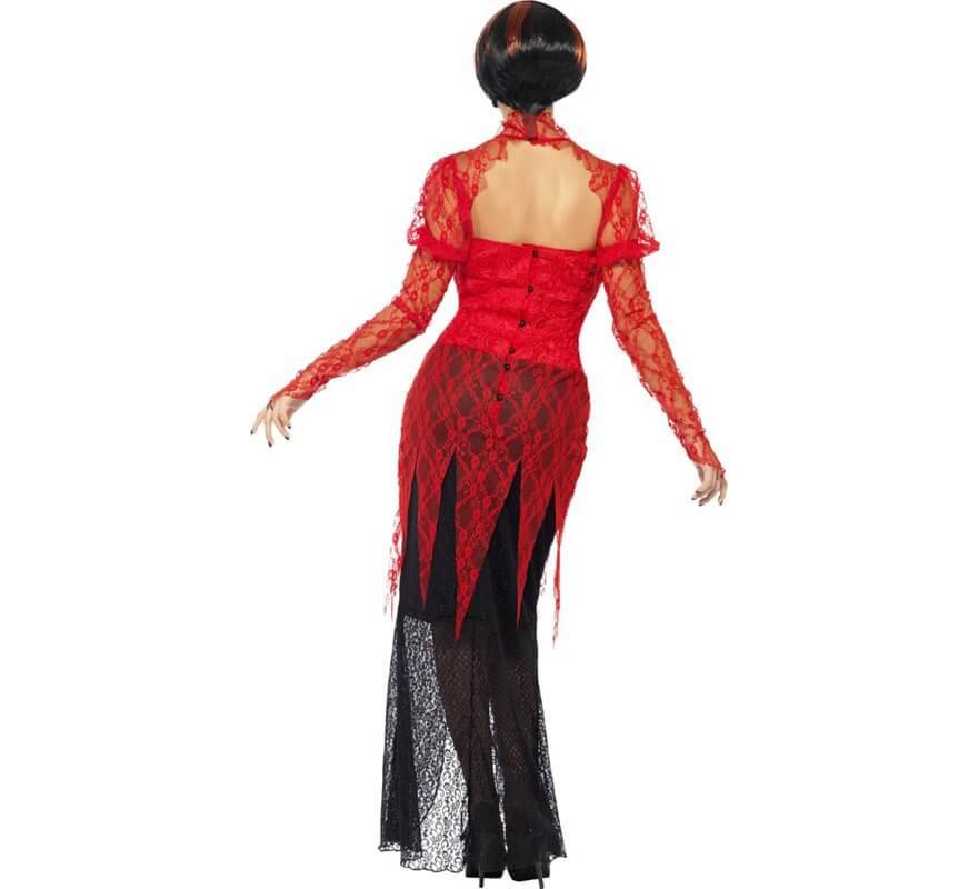 Disfraz de Diablesa de Encaje para Mujer-B