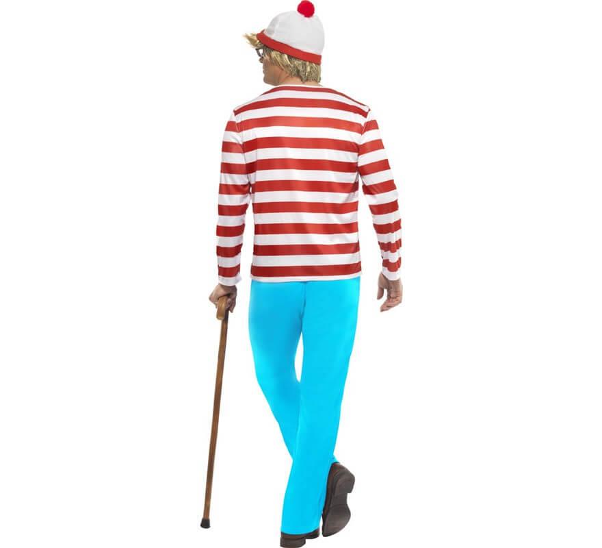 Disfraz de Dónde está Wally: Wally para Hombre-B