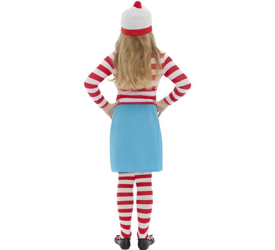 Disfraz de Dónde está Wally: Wenda para Niña-B