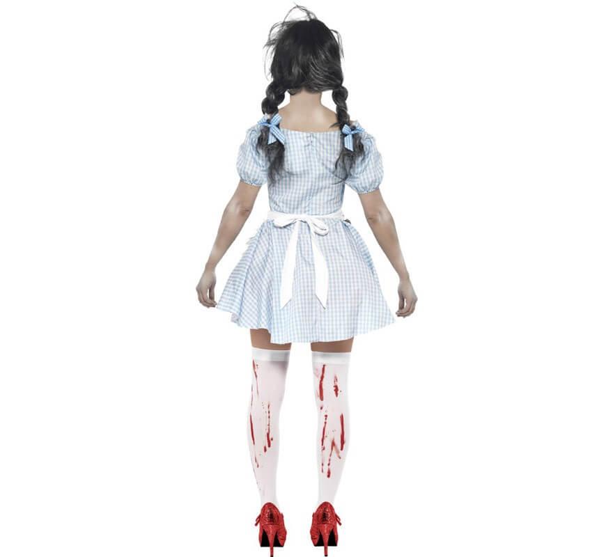 Disfraz de Dorothy Zombie para mujer-B