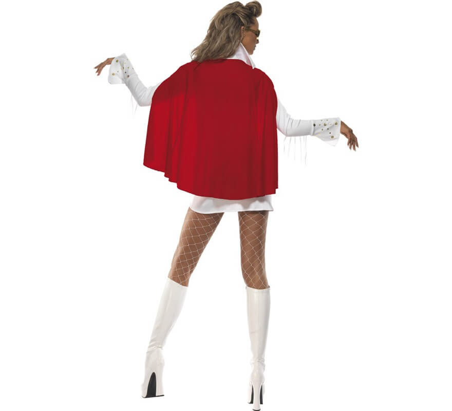 Disfraz de Elvis Viva las Vegas para Mujer-B