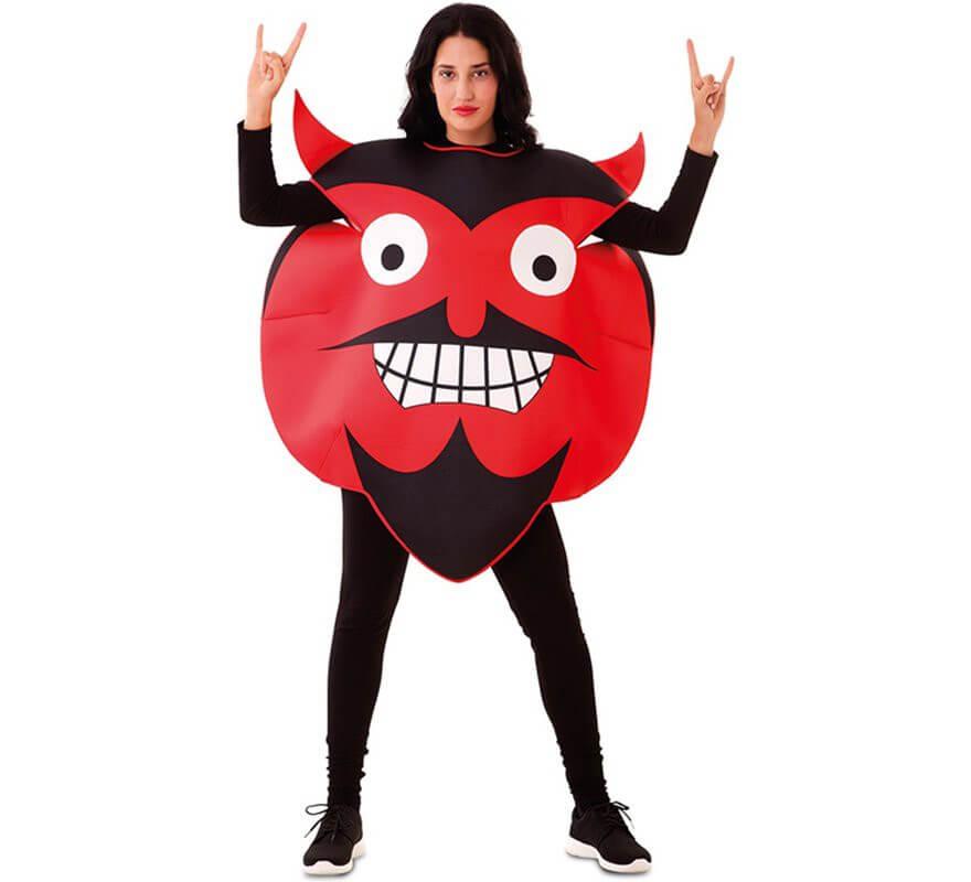 Disfraz de Emoticono Diablo para adultos-B