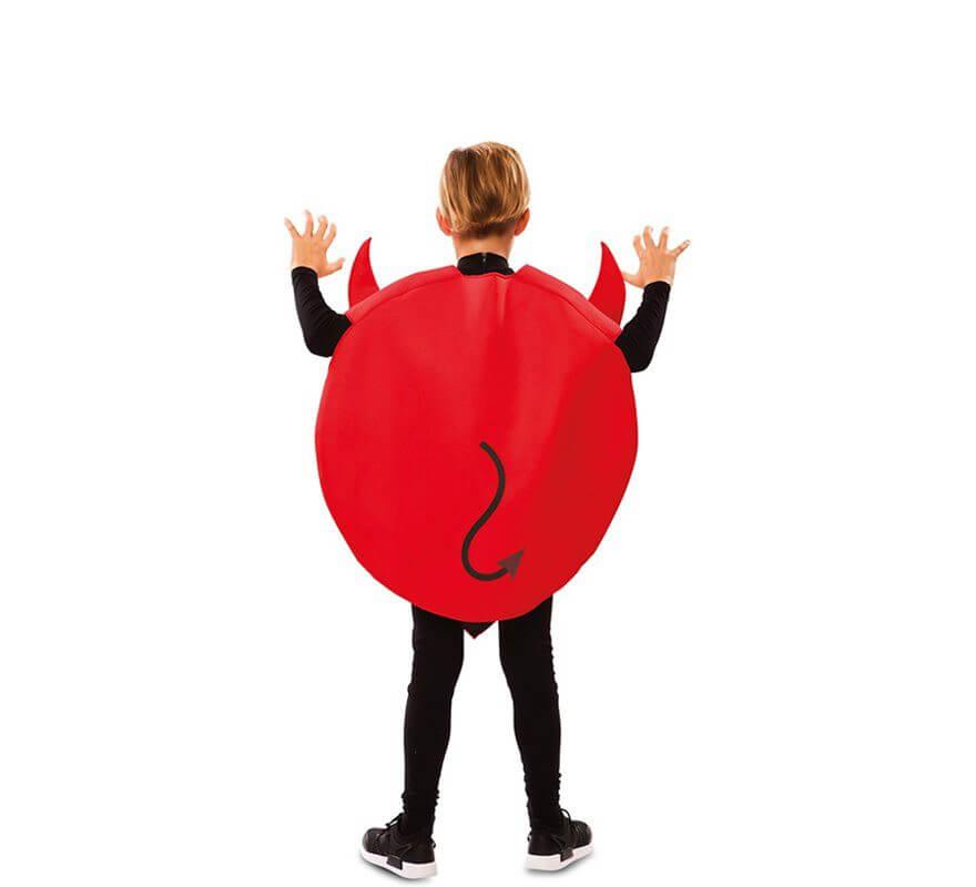 Disfraz de Emoticono Diablo para niños-B