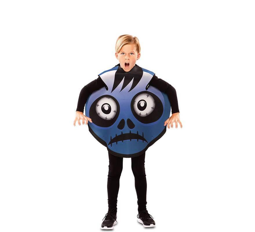 Disfraz de Emoticono Frank para niños-B