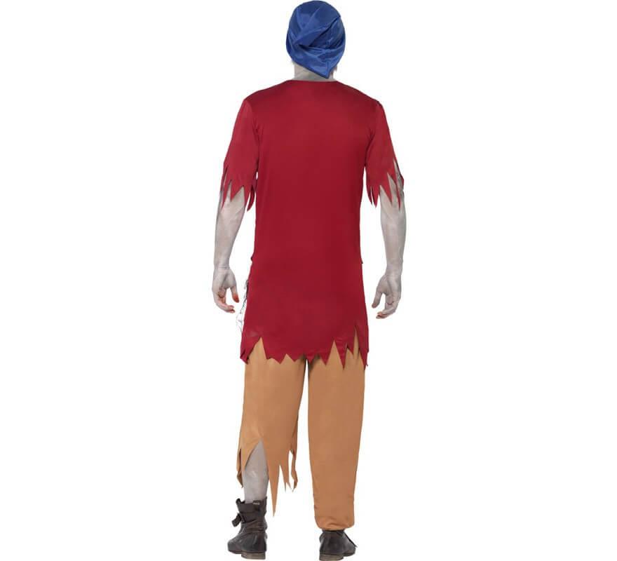 Disfraz de Enanito de Cuento Zombie para Hombre-B