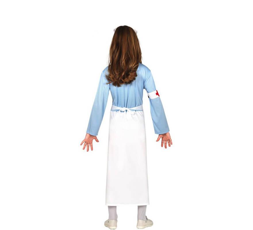 Costume da infermiera per bambina della seconda guerra mondiale-B