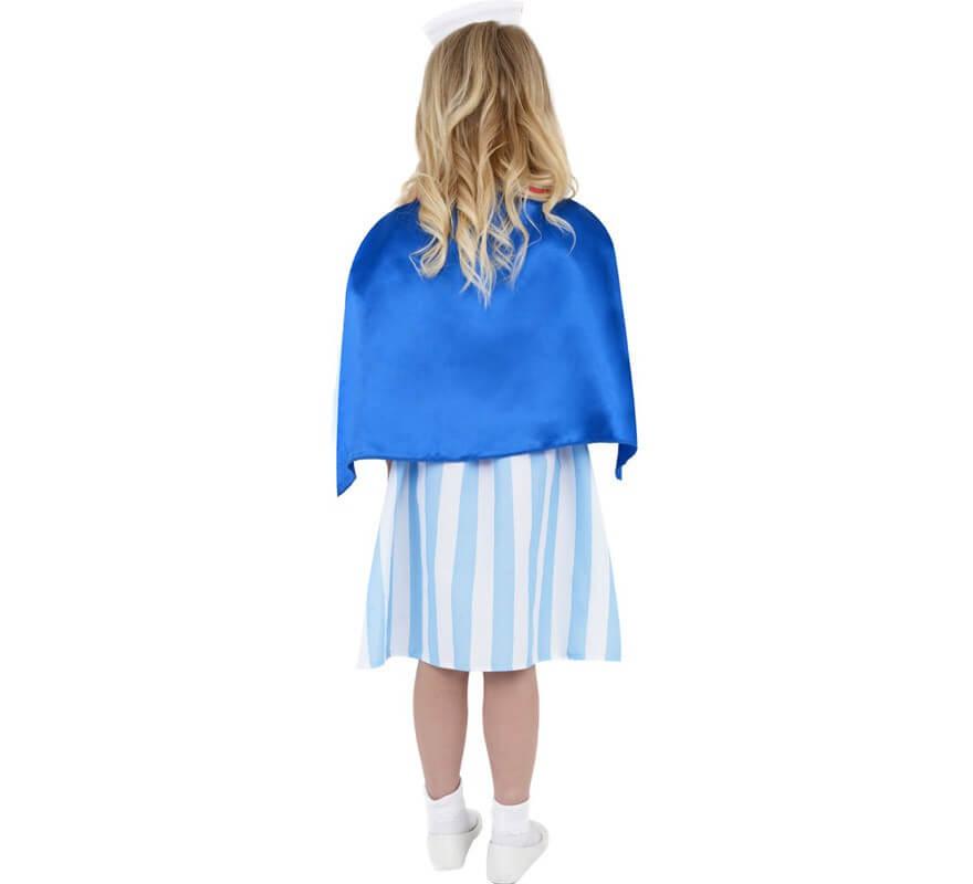 Disfraz de Enfermera Retro o Vintage para Niña-B