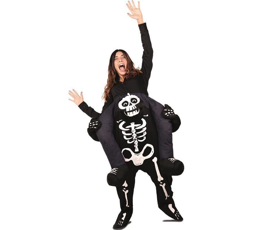 Disfraz de Esqueleto a hombros para adultos-B