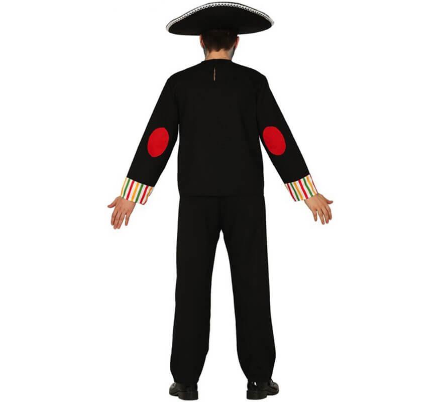 Disfraz de Esqueleto del Día de  Los Muertos para hombre-B