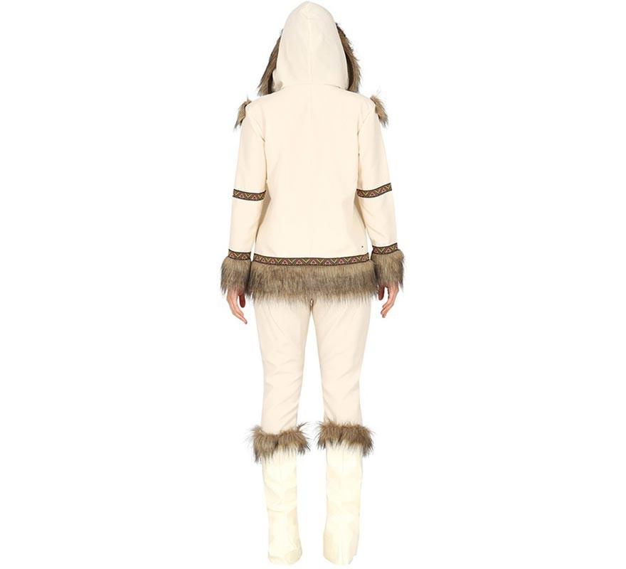 Disfraz de Esquimal Blanco para mujer-B