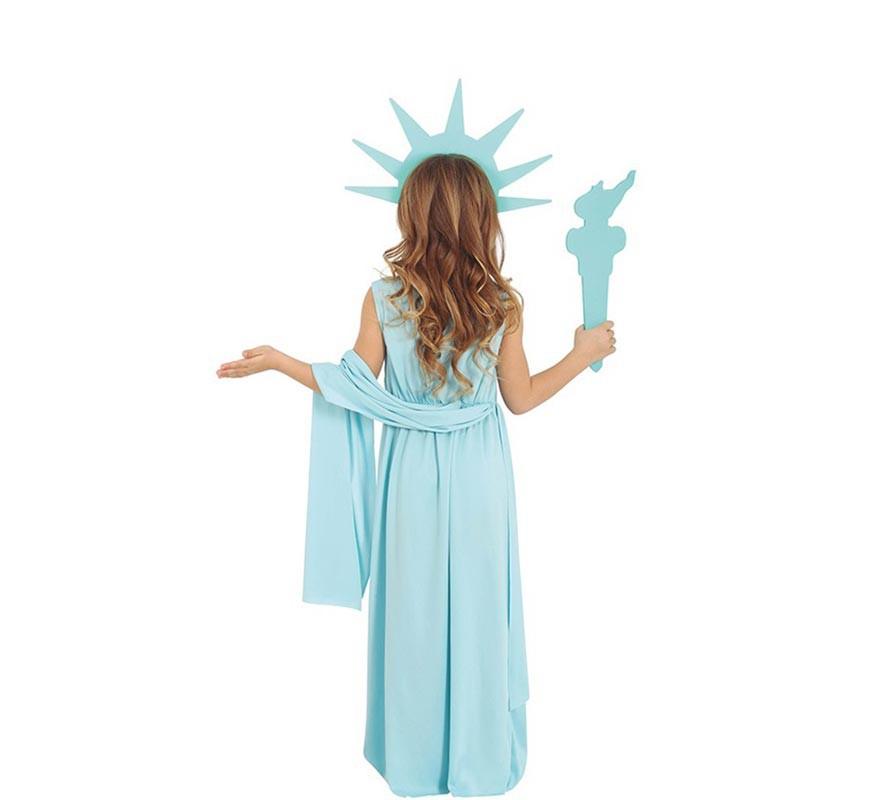 Disfraz de Estatua de la Libertad para niños-B