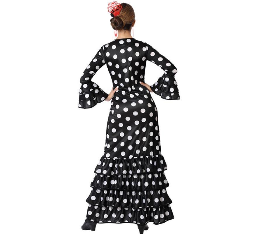 Disfraz de Flamenca Negro para mujer-B