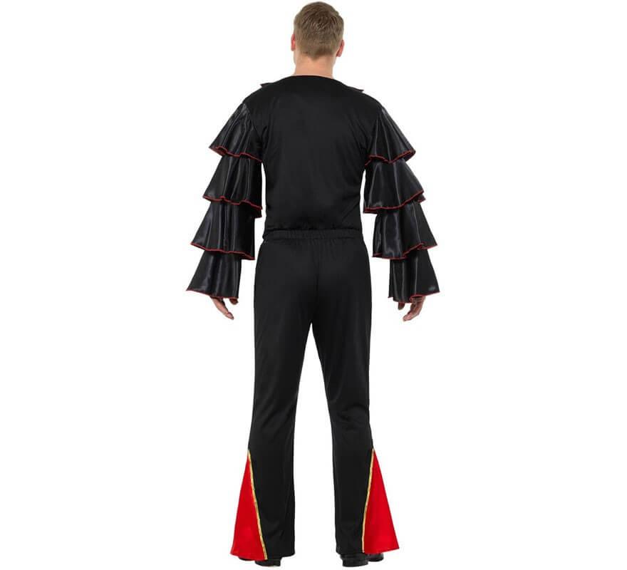 Disfraz de Flamenco con Flores para hombre-B