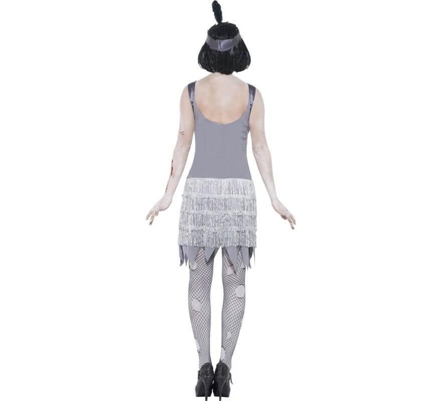 Disfraz de Flapper Zombie de los años 20 para Mujer-B