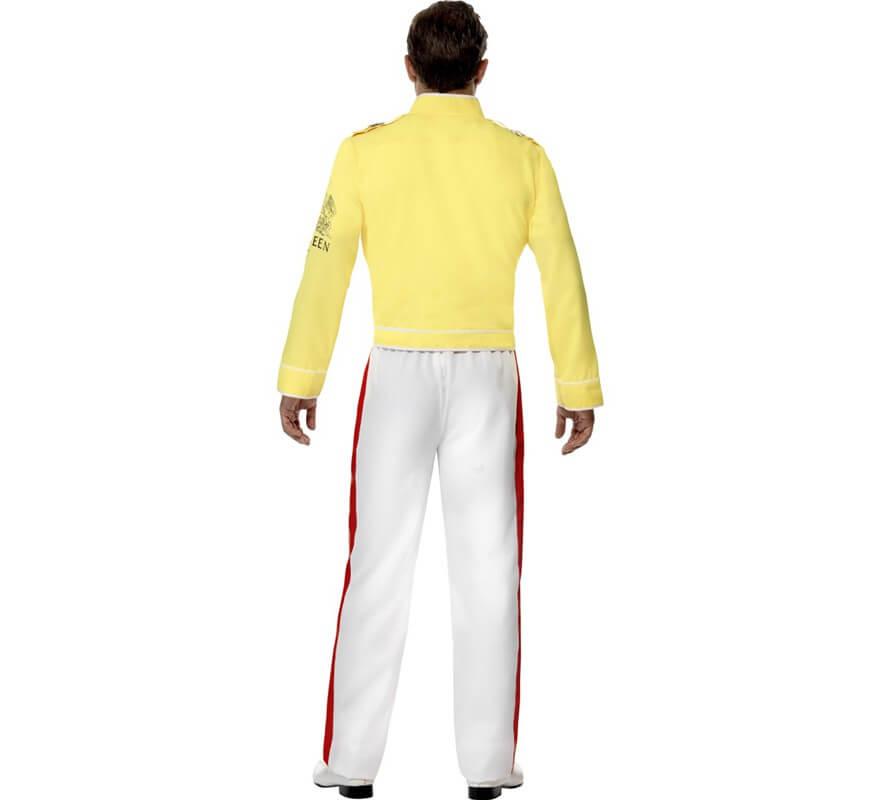 Disfraz de Freddie Mercury de Queen para hombre-B