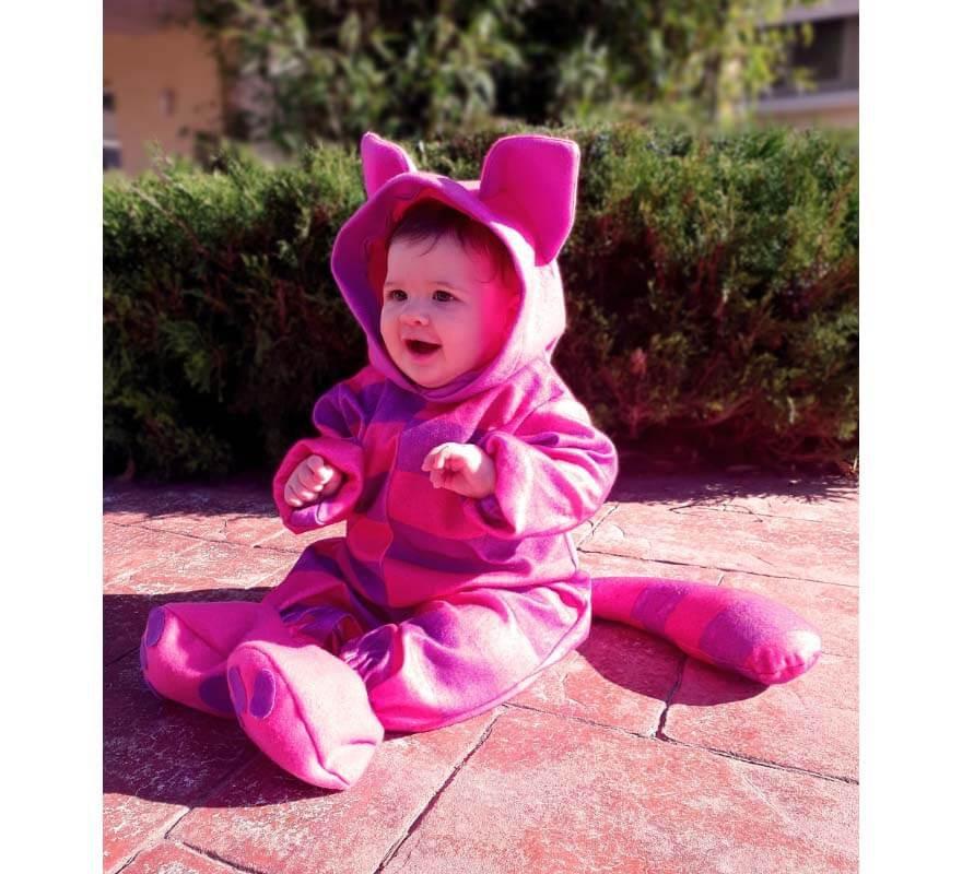 Disfraz de Gato Cheshire para bebé-B