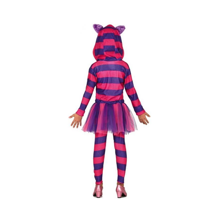 Disfraz de Gato Cheshire para niña-B