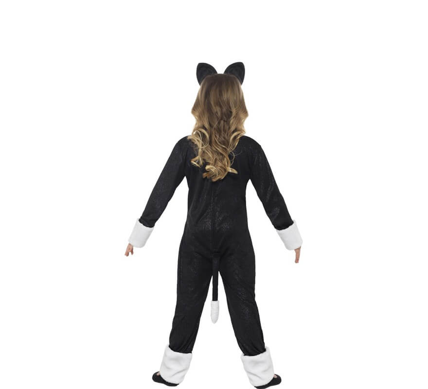 Disfraz de Gato o Gata para niños-B