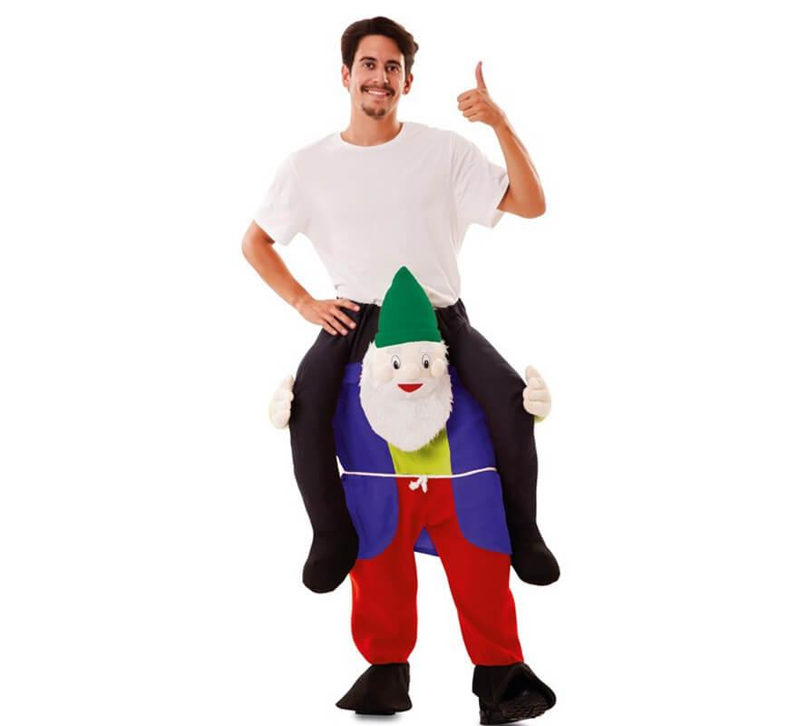 Disfraz de Gnomo a hombros para adultos-B