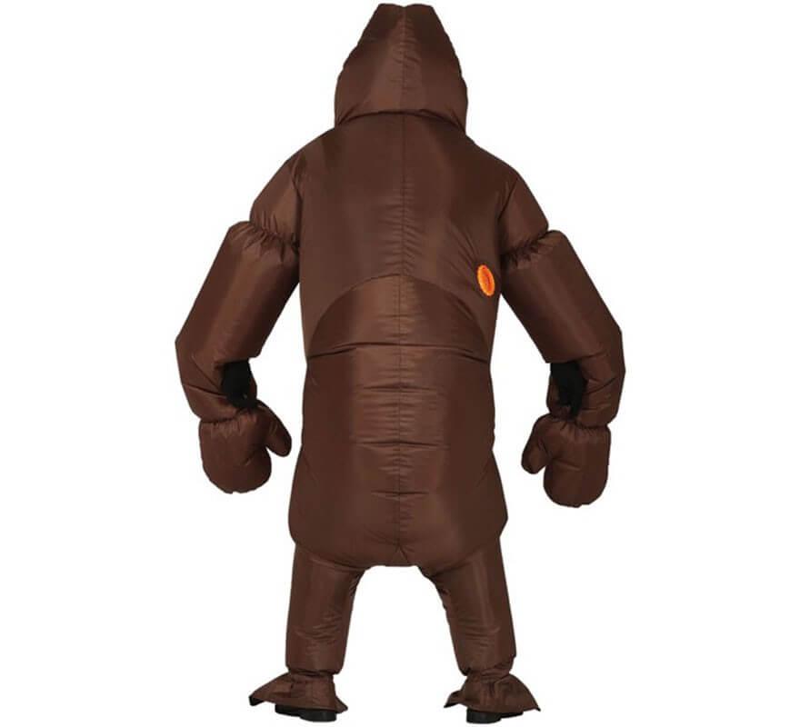 Disfraz de Gorila Marrón Hinchable para adultos-B