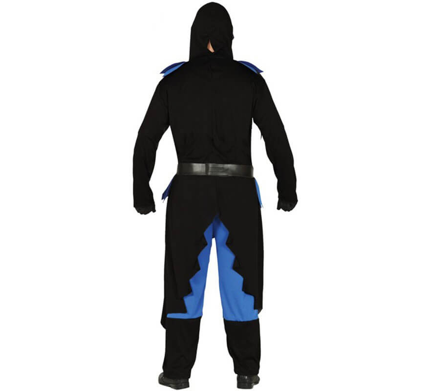 Disfraz de Guerrero Ninja Oscuro para adultos-B