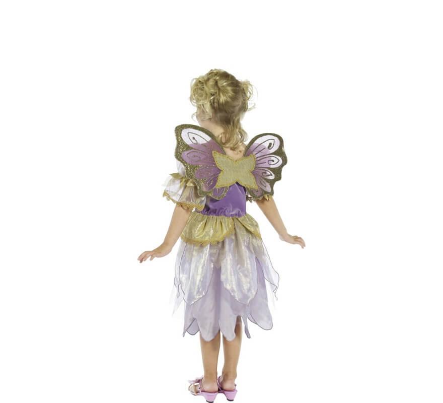 Disfraz de Hada Morada para niña
