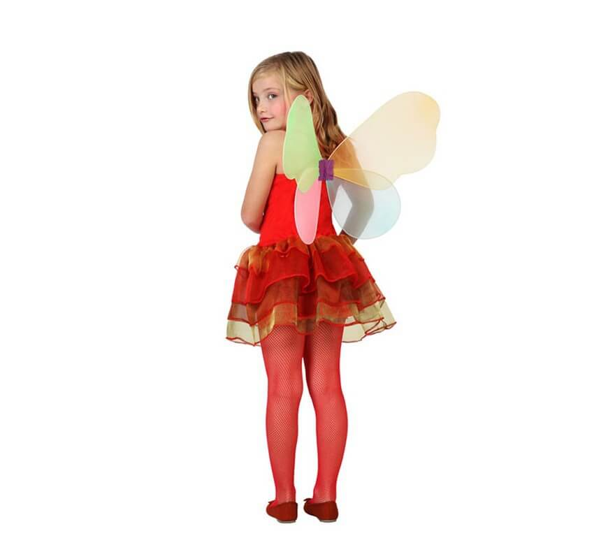 Disfraz de Hada Otoño roja para niñas-B