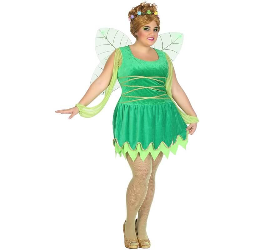 Disfraz de Hada Verde para mujer-B