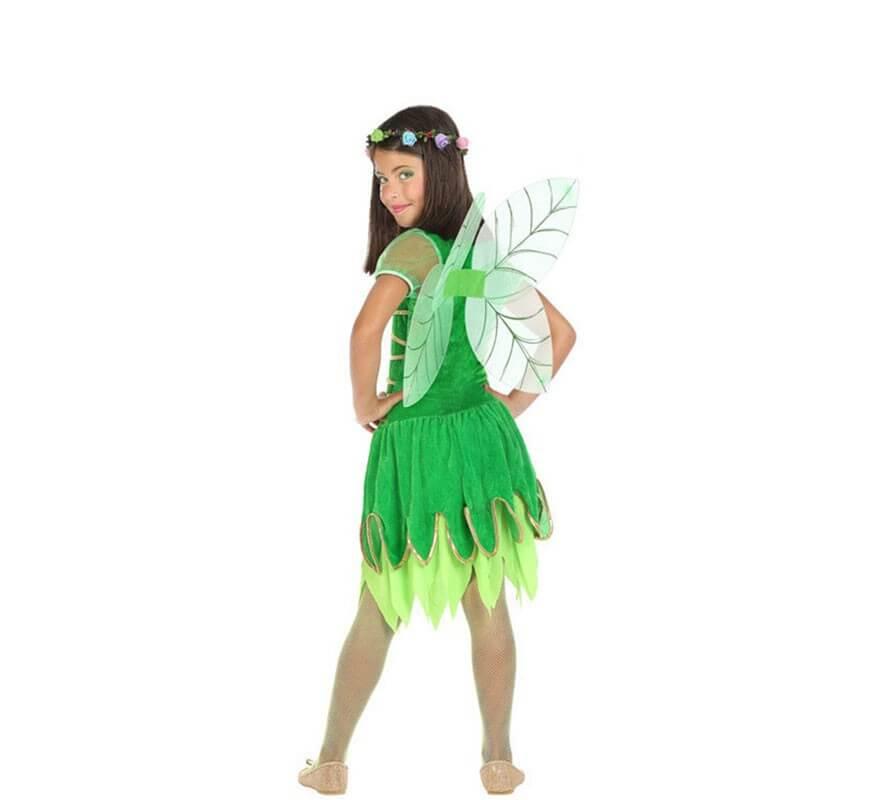 Disfraz de Hada Verde para niña-B