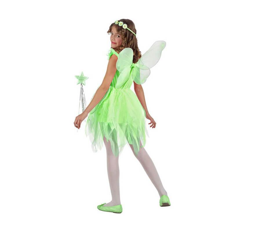 Disfraz de Hada verde para niñas-B