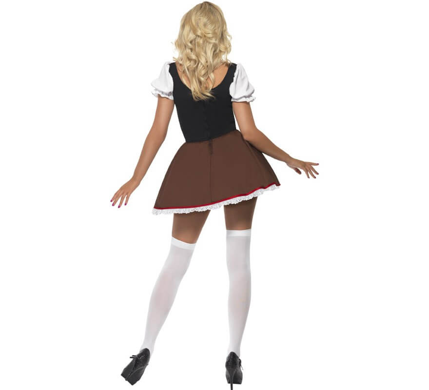 Disfraz de Heidi Sexy para Mujer para Oktoberfest-B