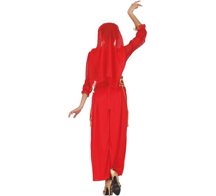 Disfraz de Hindú Rojo para mujer-B