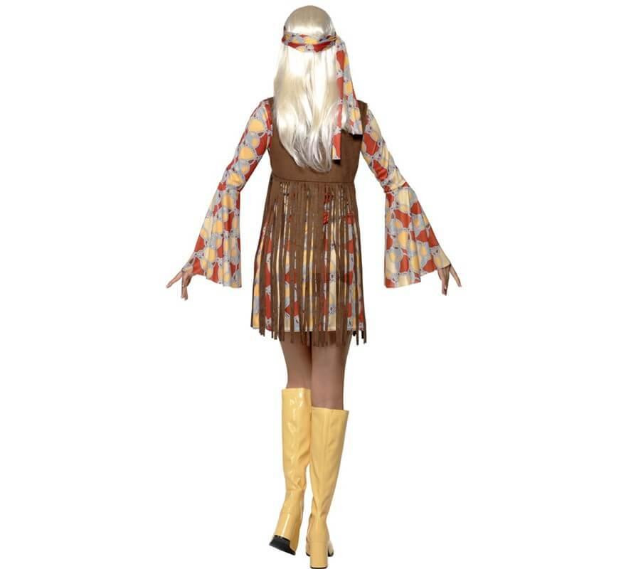 Disfraz de Hippy Cool para Mujer-B