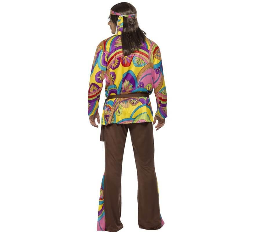 Disfraz de Hippy Psicodélico para Hombre-B