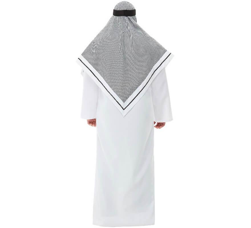Disfraz de Jeque Blanco para hombre-B