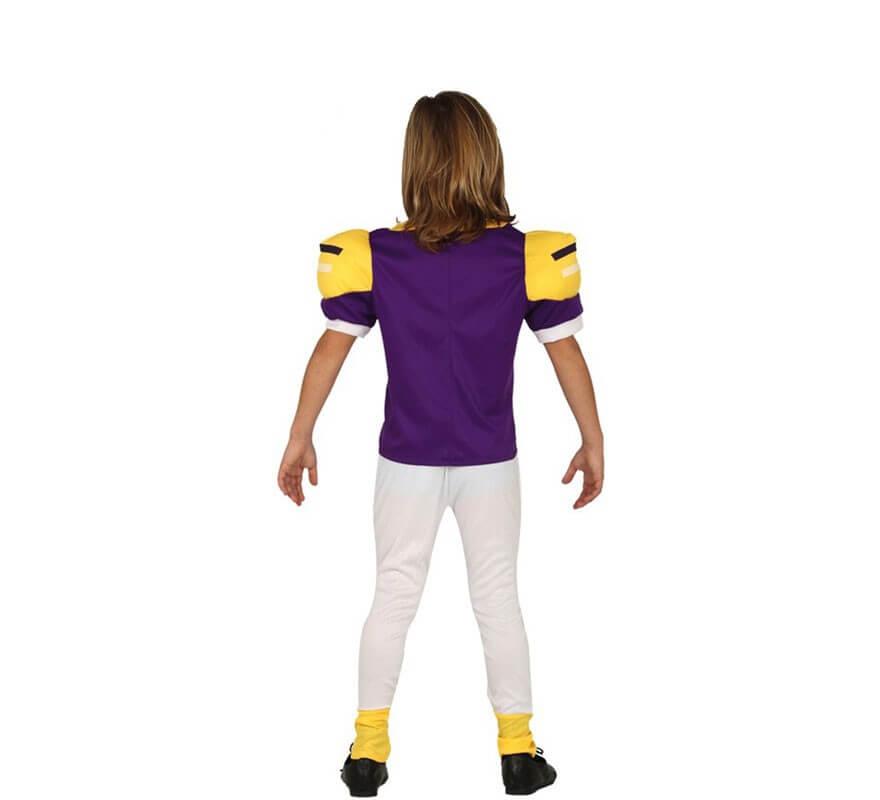 Disfraz de Jugador Futbol Americano para niño-B