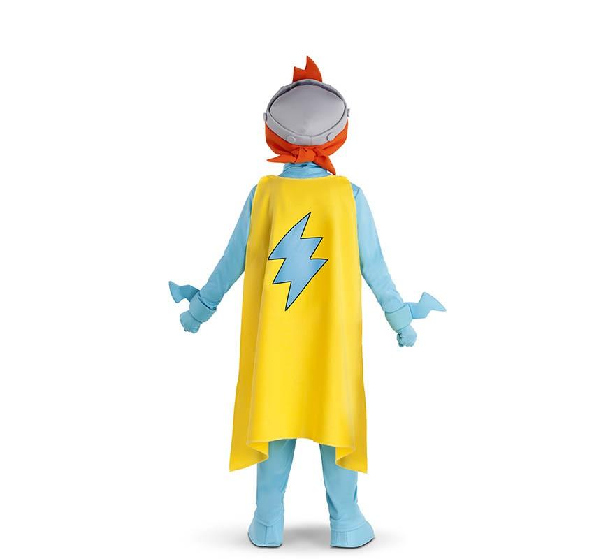 Disfraz de Kid Kazoom de SuperZings para niños-B
