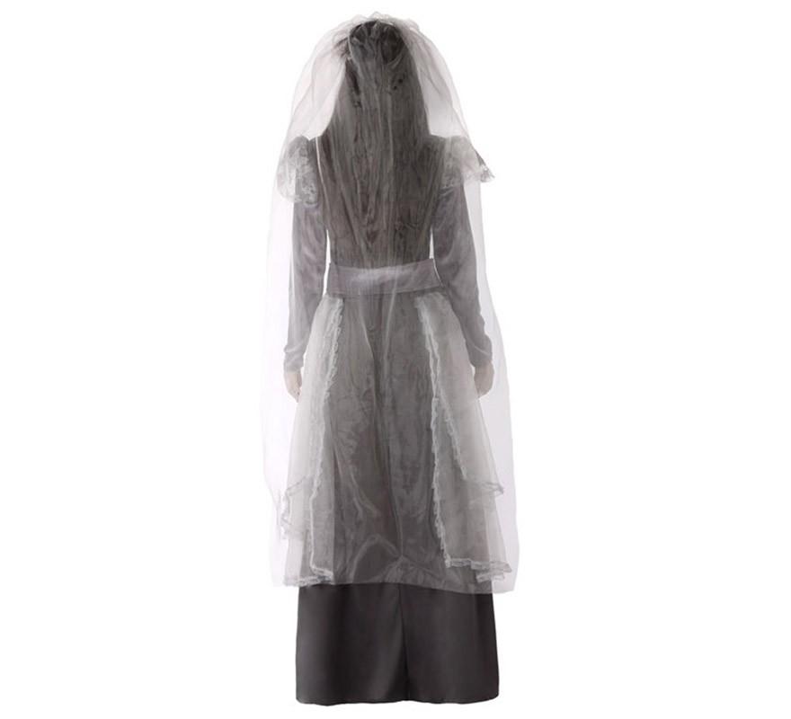 Disfraz de La Llorona gris para mujer-B