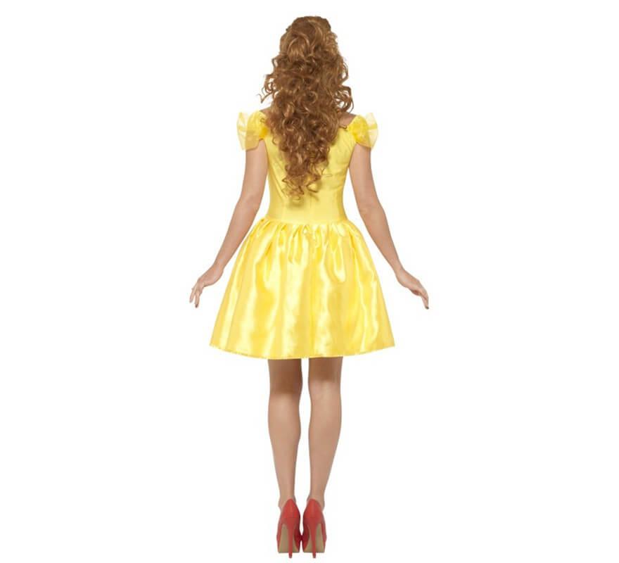 Disfraz de Princesa de Cuento amarilla para mujer-B