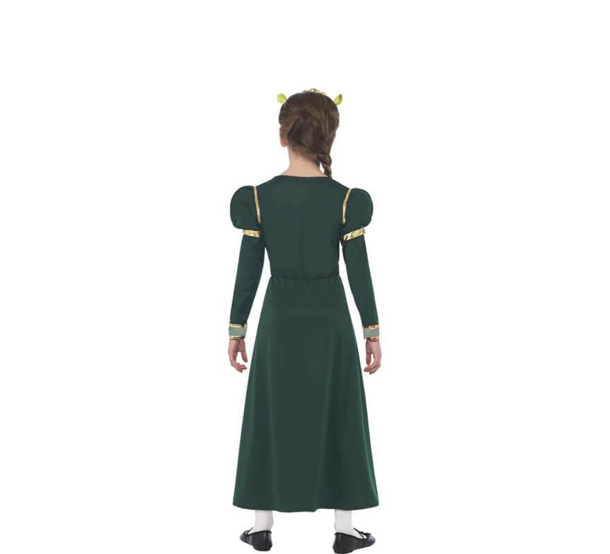 Disfraz de la Princesa Fiona de Shrek para niña-B